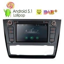 """7 """"Android 5.1 Lollipop Quad Core Car DVD Player Auto radio With DAB+Screen Mirroring /OBD2/TPMS For BMW E81/E82/E88 2004-2011"""