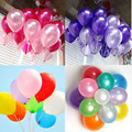 200pcs/lot 10inch1.2g Globos Latex Balloon Helium Wedding Party Baloons Birthday Balls Classic Toy Christmas Gift Ballon Mariage