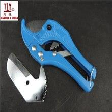 С сменным лезвием 42 мм ПВХ трубы водопроводная трубка пластиковый шланг резак плоскогубцы инструмент трещотки типа