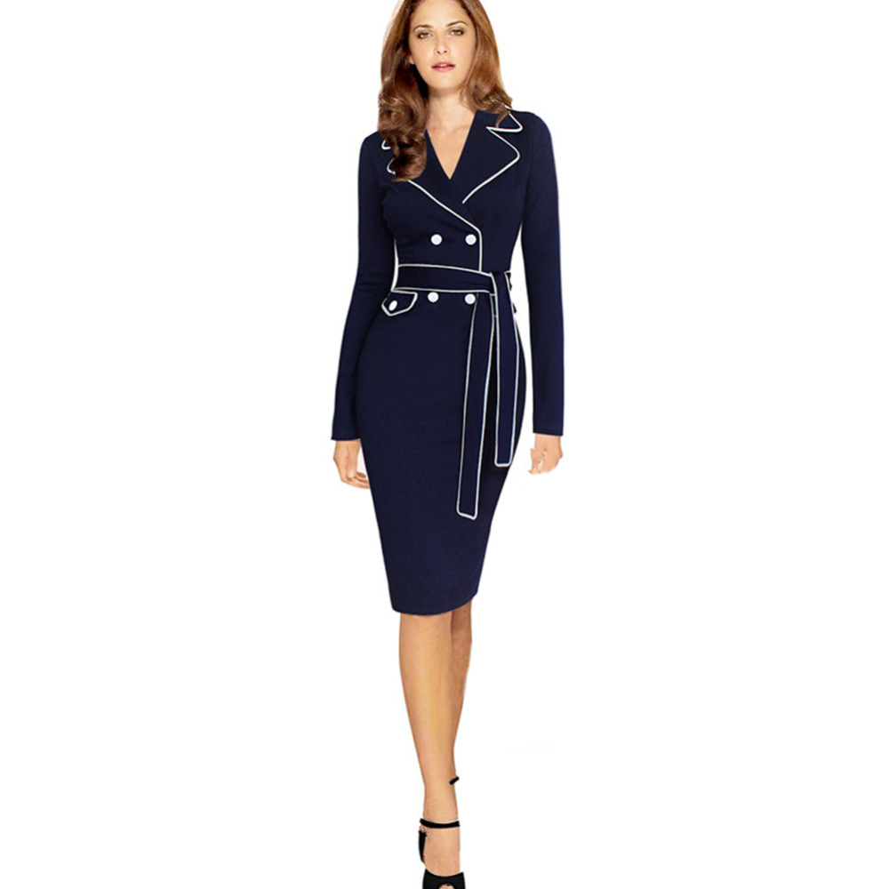 dress bodycon office work business dresses