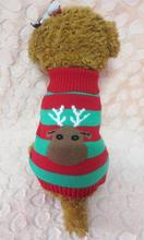 Pet Sweater Jumpsuit 2017 Transer Hot New Christmas Pet Dog Puppy Warm Sweater Jumpsuit Coat Clothes Outwear OT16 M30