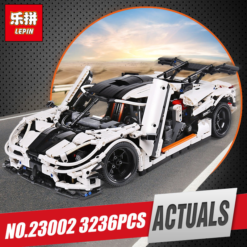 Lepin 23002 Technic Series The MOC-4789 Changing Racing Car Set Children Educational Building Blocks Bricks legoing Toys Model цена
