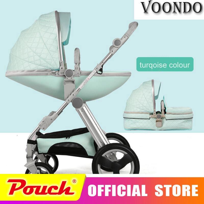 Woondo del bambino passeggino bebek arabasi carrinho de bebe cochecito carrozzina bebe carrozzina di Alta paesaggio adatto per l'inverno di viaggio