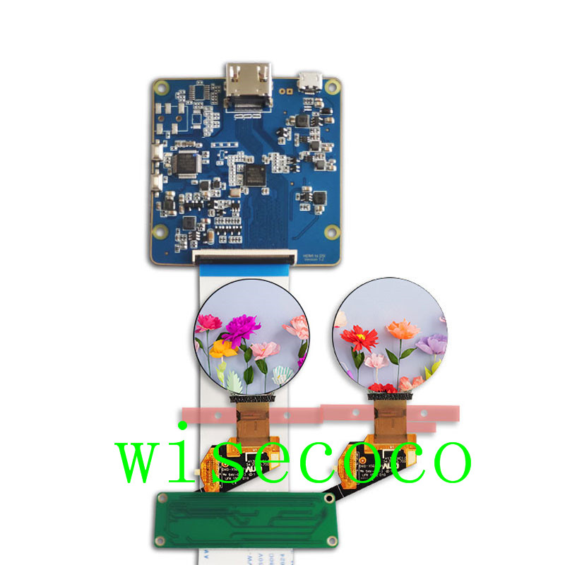 1.39 inch round oled display screen 400*400 hdmi mipi board for diy project 1.39 inch round oled display screen 400*400 hdmi mipi board for diy project