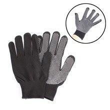 Горячая Распродажа, 1 пара, выпрямитель для волос, завивка волос, Парикмахерская, жаростойкая перчатка для пальцев, черный, серый цвет#82683