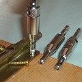 3 tamaño autocentrado gabinete bisagra de la puerta de madera de Hardware Drill Bit Set 7/64 9/64 11/64 guía piloto Hole taladro