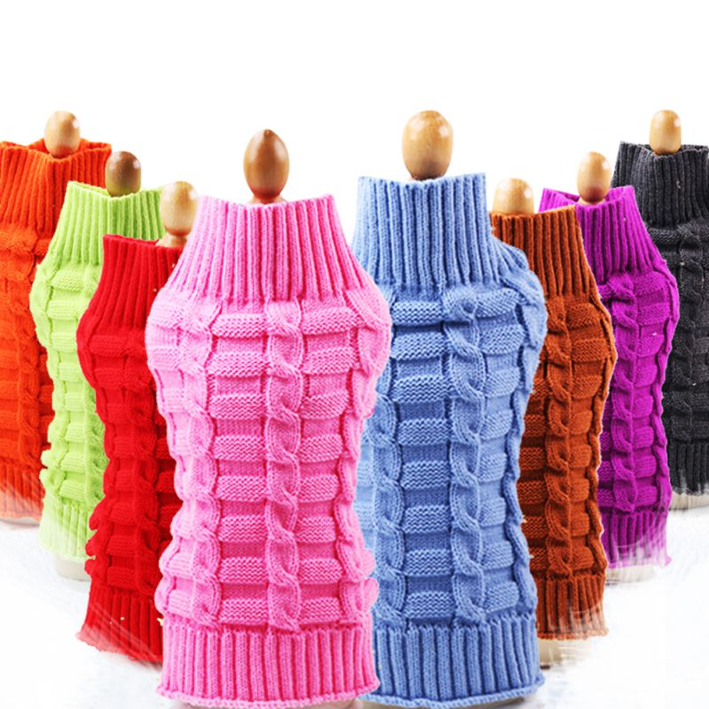 Chihuahua Pet Cat Knitwear Sweater Puppy Warm Coat Cheap Clothing for Dogs Winter Doggy Costume Sweater Dog Small Dog Clothes ...