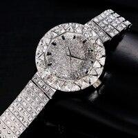 New Xinge Women Stainless Steel 3A Zircon Crystal Bracelet Watches Women Dress Luxury Wrist Watch 30m