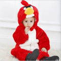 Hotsale angry bird cosplay romper halloween baby costume animal