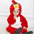 Hotsale pássaro irritado cosplay traje animal bebê romper o dia das bruxas