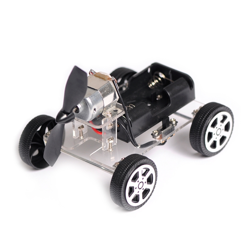 OOTDTY 130 Brush Motor Mini Wind Educational Toy DIY Car Motor Robot Kits For Arduino