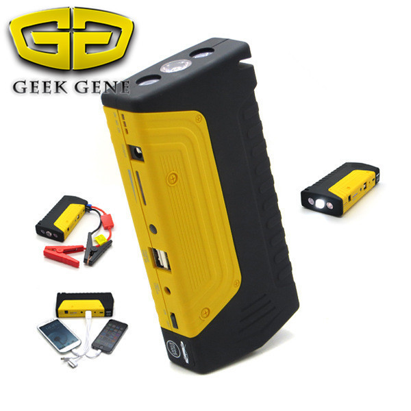 2017 multi-function car jump starter High power capacity battery source pack charger vehicle engine booster emergency power bank