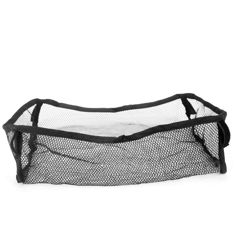 Baby Stroller accessories Pram Black Hanging Mesh Safe Bag Trolley Car Storage Basket Net T026