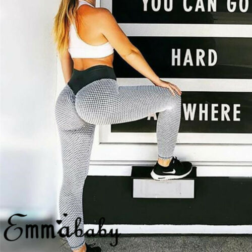 Women Ruching Push Up Leggings 2019 New Ladies Work Out Pants Fashion Apparel Anti Cellulite Sexy Scrunch Pants Women Clothes