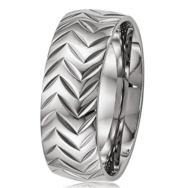 Aliexpresscom Buy 8mm Mens Titanium Ring Comfort Fit Engagement