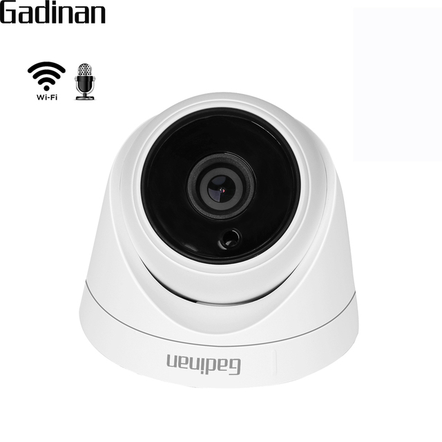 US $21 78 35% OFF|GADINAN CamHi APP Mini Wifi IP Camera Audio 1080P 960P  720P Wireless Wired Video Surveillance Night Vision with SD Card Slot-in