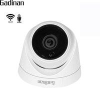 GADINAN CamHi APP Mini Wifi IP Camera Audio 1080P 960P 720P Wireless Wired Video Surveillance Night