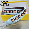 W.D.POLO Strapper you bag strap handbag belts stud gift bag accessory bag parts genuine leather Fashion icon bag belts P1684