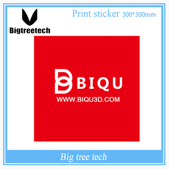 BIQU 300mm*300mm Red 3D Printer Bed Tape Sticker with 3M Adhesive Build Plate Tape For 3D Printer MK2A Heatbed 3D0334 image