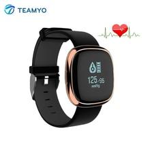 Teamyo P2 артериального давления сна фитнес-трекер монитор сердечного ритма трекер активности водонепроницаемый смарт-браслет для Iphone, Android