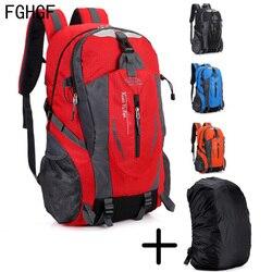 35L 屋外登山キャンプハイキングトレッキングリュックサック旅行防水カバー自転車バッグ