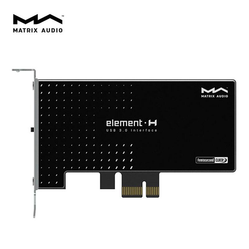 Matrix Element H Hi-Fi USB 3.0 Interface Expansion Card Crystek Femtosecond Clock