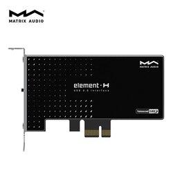Matryca Element H Hi Fi karta rozszerzeń interfejsu USB 3.0 Crystek zegar femtosekundowy w Konwerter DAC od Elektronika użytkowa na