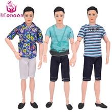 UCanaan 5 mudelid Ken Boy Doll 1/6 nuku poiss-sõbra mänguasjadega riietusjalatsite ülikonnaga 14 Ühised kehatüdrukute tarvikud