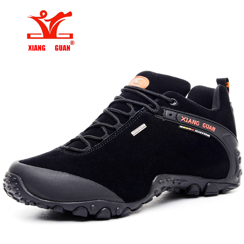 XIANGGUAN hiking shoes zapatillas deportivas hombre Men Sneaker Women Climbing Shoe Waterproof Breathable Travelling Snow boots 2017brand sport mesh men running shoes athletic sneakers air breath increased within zapatillas deportivas trainers couple shoes