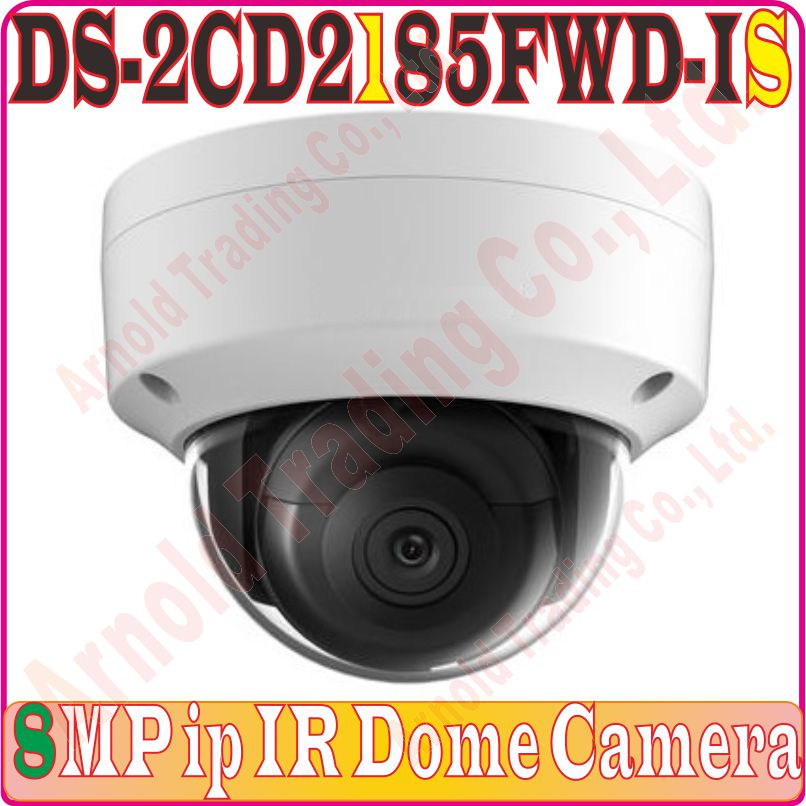 Cheap Price English-verison Audio/alarm Ds-2cd2185fwd-is H.265 8mp Ip Web Dome Poe Camera Network Dome Audio Camera 120db Wide Dynamic Exquisite Craftsmanship;