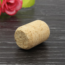Natural Durable Round Unused Straight Brewed Wine Cork Plugs Wine Bottle Wood Corks Stopper Preservation Sealing Caps Bar Tool(China)