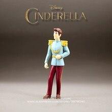 """דיסני הסינדרלה סיפור נסיך קריקטורה 11 ס""""מ מיני בובת פעולה איור אנימה מיני אוסף צלמית צעצוע דגם לילדים מתנה"""