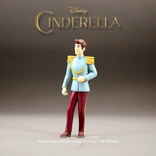 Disney Cinderella Story Prince Cartoon 11cm mini doll Action Figure Anime Mini Collection Figurine Toy model for children gift cheap Unisex Movie TV Finished Goods Western Animiation Soldier Finished Product 3 years old 8-11 Years 8 years old 12-15 Years