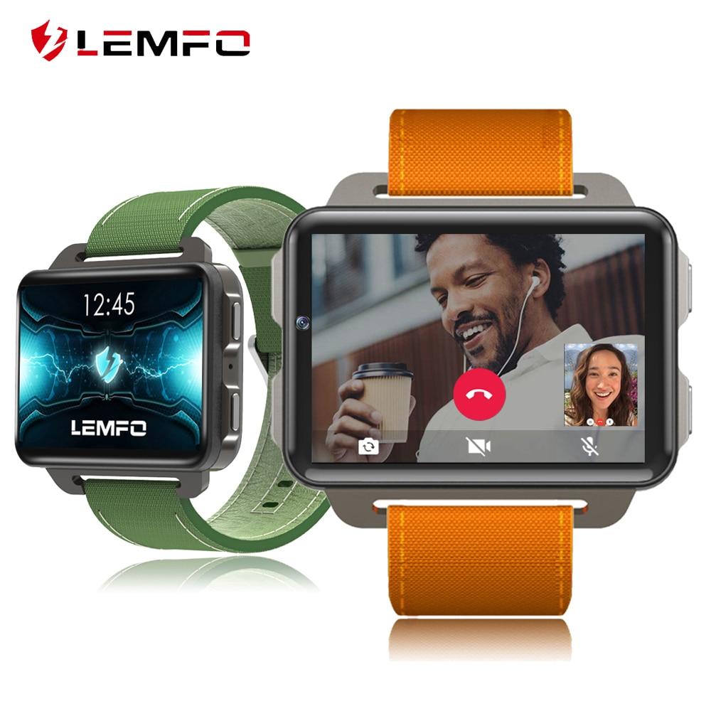 LEMFO LEM4 PRO Smart Watch Men 2 2 inch Android 5 1 MTK6580 1 3GHz 3G