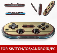 8Bitdo FC30 PRO Wireless Bluetooth Controller Gamepad Dual Classic Joystick For MacOS Android Windows Switch Steam PS3 Wii/WiiU