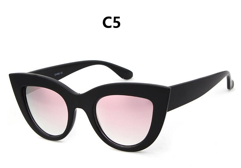 HTB1wjeERpXXXXcPXFXXq6xXFXXXG - Women's cat eye sunglasses ladies Plastic Shades quay eyewear brand designer black pink sunglasses PTC 221