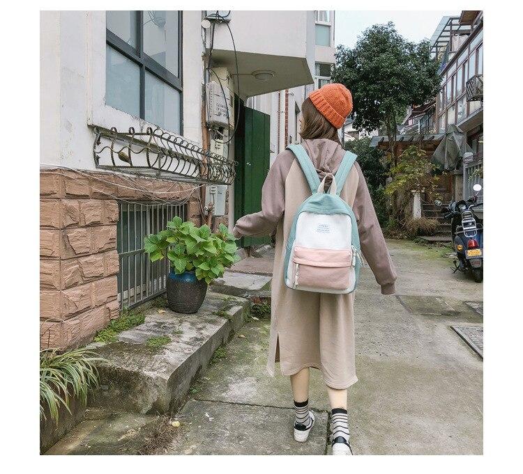 HTB1wjeHaAT2gK0jSZFkq6AIQFXaM 2019 New Fashion Women Backpack Leisure Shoulder School Bag For Teenage Girl Bagpack Rucksack Knapsack Backpack For Women