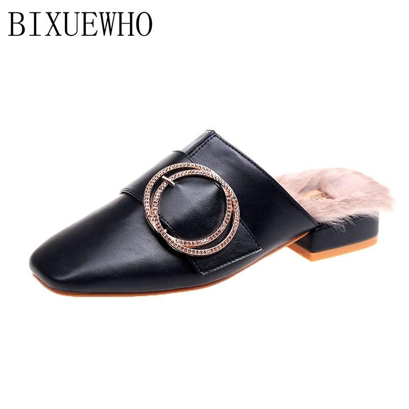 Nuevo Dedos Tacones Lluvia Los Cuadrados Zapatillas Al Aire Sólida Mujeres  Primavera Beige 2019 Pies Mujer Casuales Zapatos ... 962847cbaa0f