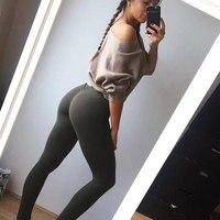 Curvy 4 season shaped hip sportswear women legging Fitness push up leggings workout warm winter leggins Gym