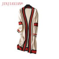 2018 Spring Cardigan Women S Clothing Long Cardigan Knit Long Knit Women Clothing Knitted Coat Long