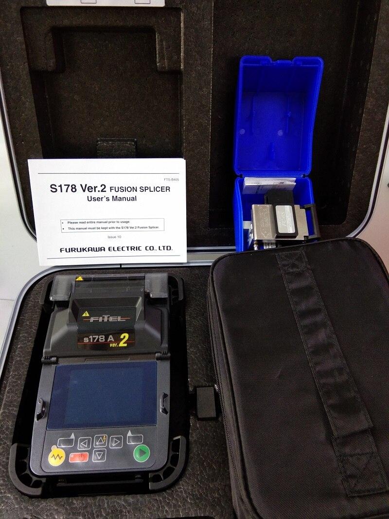 ORIGINAL Japan Optical Fiber Splicing Machine FITEL S178A soudeuse de fibre optique with Original SUMITOMO FC 6S-in Fiber Optic Equipments from Cellphones & Telecommunications