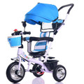 High Quality New Design Baby Pushchairs 3 Wheels Baby Tricycle Portable Baby Car Strong Steel Frame Safety Baby Bicycle