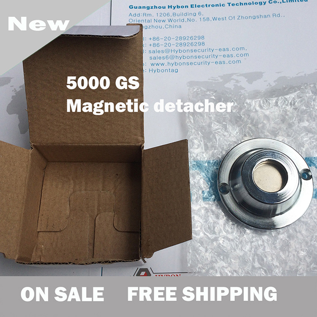 New magnet detacher 2015 hot free shipping secuirty tag removal 5000 gs EAS tag detacher eas system tag