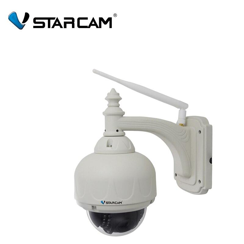 bilder für Vstarcam C7833WIP-X4 Außen ONVIF PTZ 4X Zoom P2P plug spielen Pan/Tilt/WiFi HD 720 P Ip-dome-kamera Micro SD karte