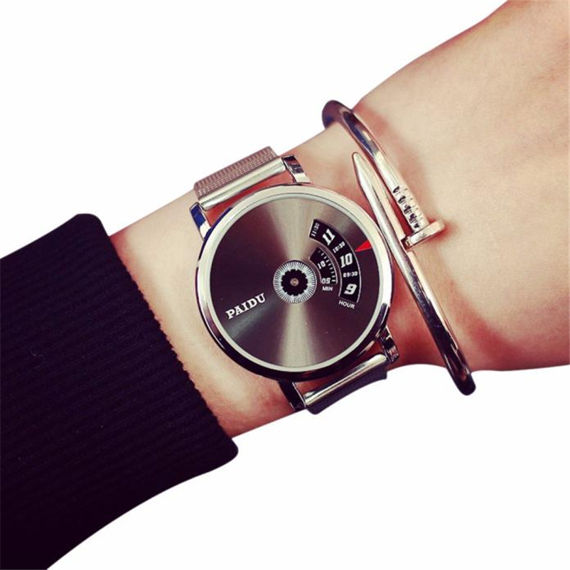 2018 Fashion Casual Mens Watches Top Brand Luxury Creative Stainless Steel Quartz-Watch Men Wristwatch Relogio Masculino