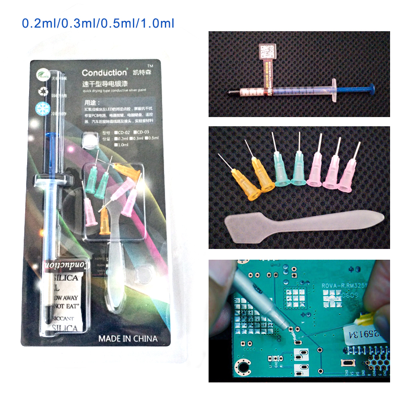 Conductive Electronic DIY Circuit Repair Draw Instantly Magical Ink Pen Tool Apt