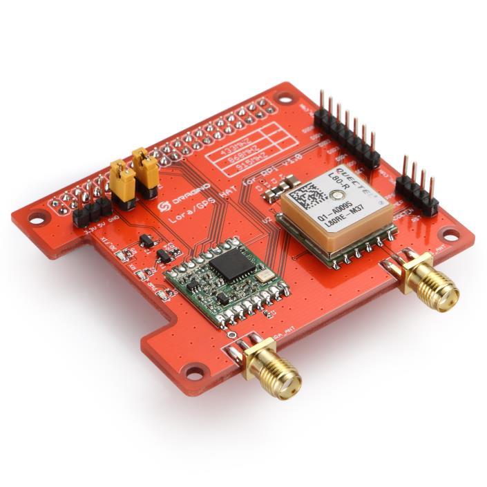 Lora GPS new single channel gateway module supports lorawan for raspberry Pie 3