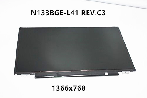 цена New 13.3'' LCD Screen Panel Display Matrix N133BGE-L41 REV.C3 eDP For ASUS S300CA S301 1366x768 Slim Panel UP+DOWN screw holes