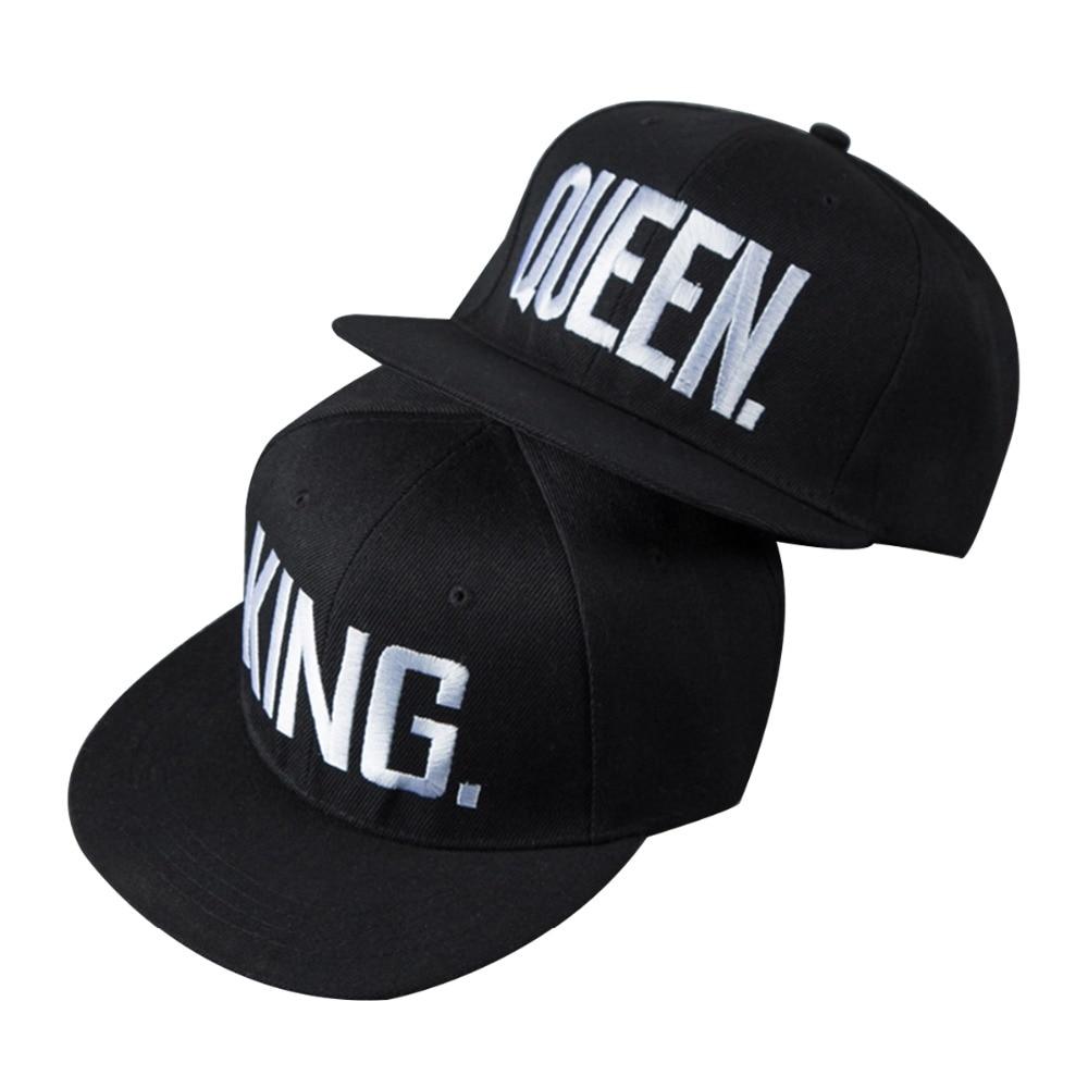 Hats/  Caps   2019 KING And QUEEN Dad Hat Embroidery Lover   Baseball     Cap   Men Women Adjustable Hip Hop Streetwear Snapback   Caps   Gorras