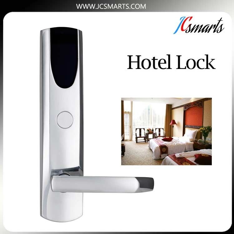 Luxury Magnetic Electronic Hotel Lock , Digital Apartment Door Lock digital electric hotel lock best rfid hotel electronic door lock for flat apartment with management software